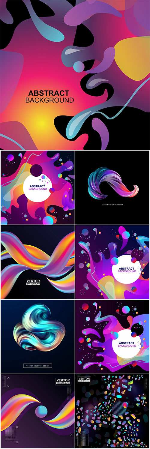 3d abstract colorful vector design illustration