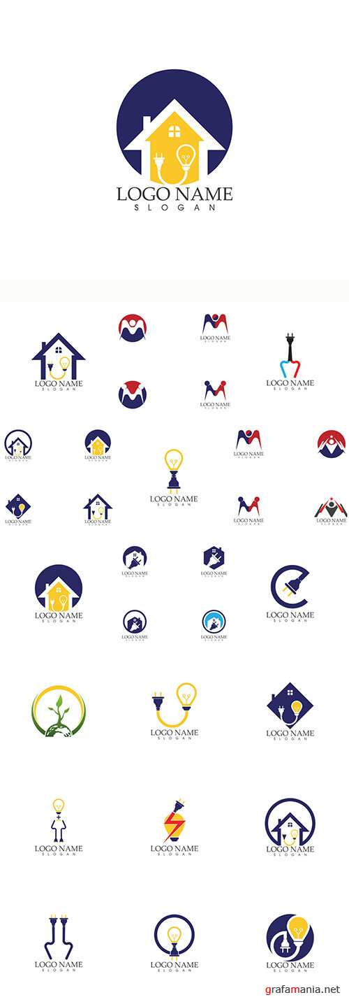 Logo business vector illustration template # 153