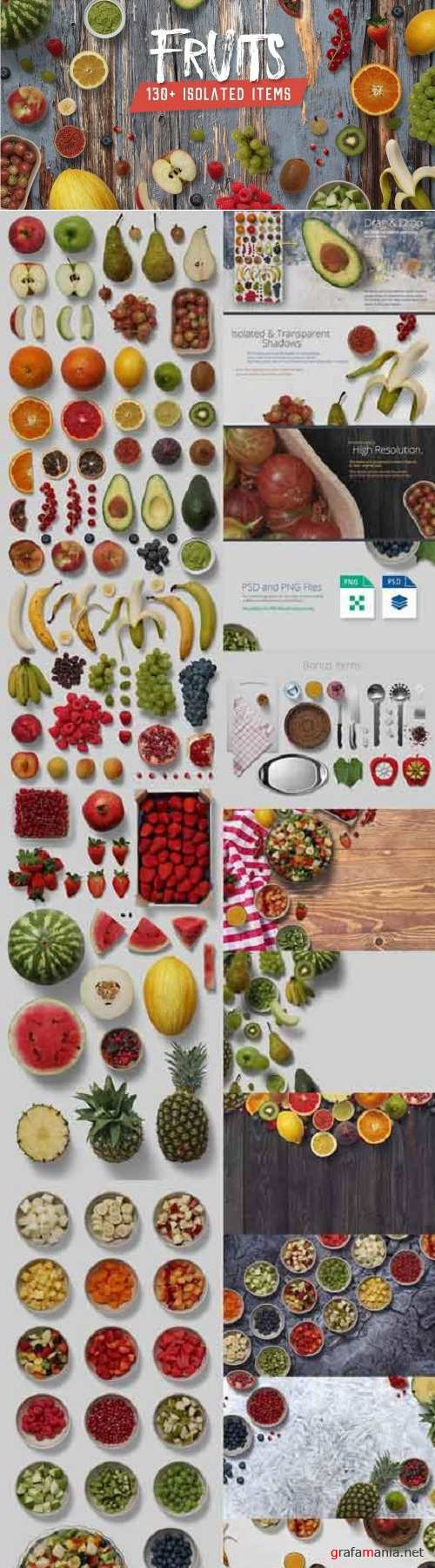 Fruits - Isolated Food Items 2135412