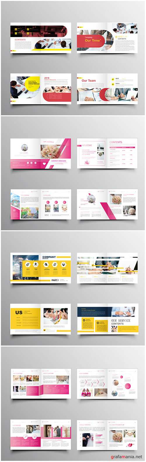 Brochure template vector layout design, corporate business annual report, magazine, flyer mockup # 227