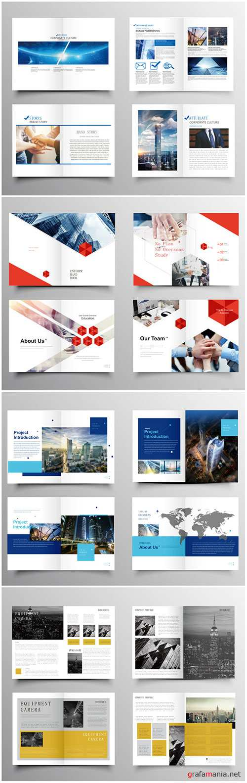 Brochure template vector layout design, corporate business annual report, magazine, flyer mockup # 226