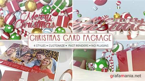 Christmas Card Package - After Effects Project (Videohive)