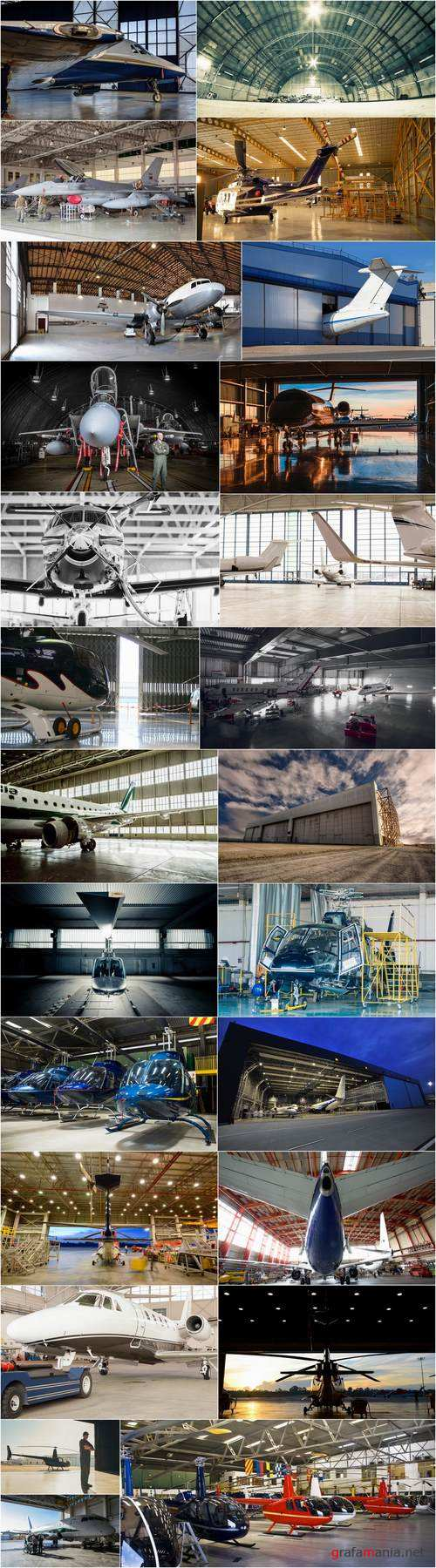 Hangar space garage aircraft helicopter 25 HQ Jpeg