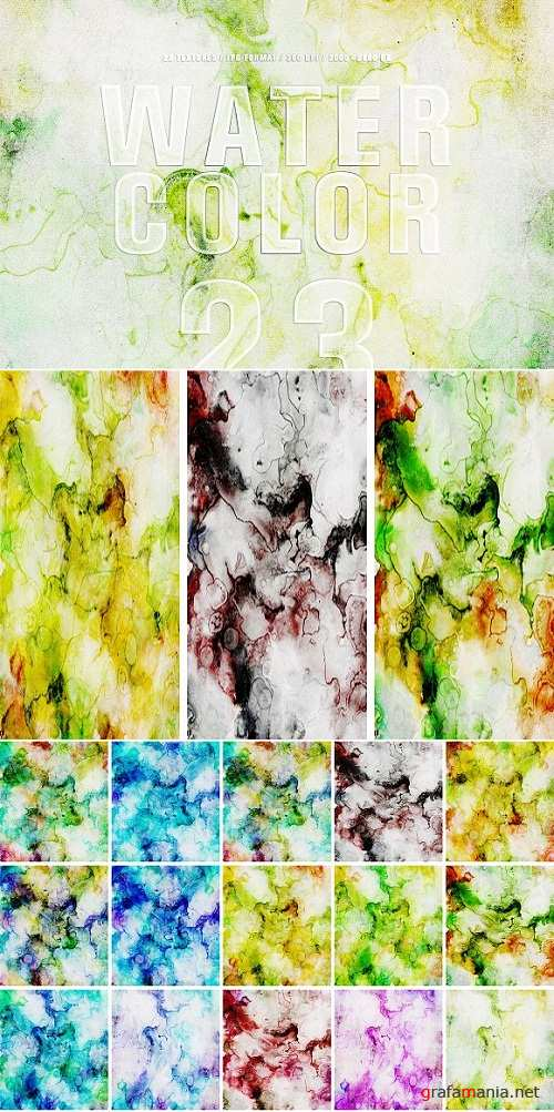 Abstract Watercolor Textures 2453009