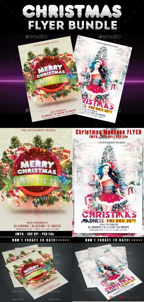 Christmas Flyer Bundle 22890716