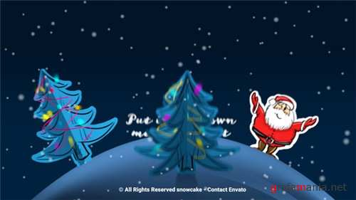 Christmas Paper World - After Effects Project (Videohive)
