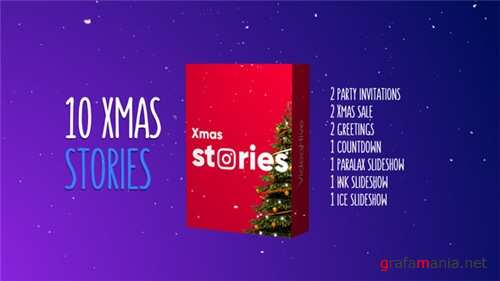 Christmas Stories Kit - After Effects Project (Videohive)