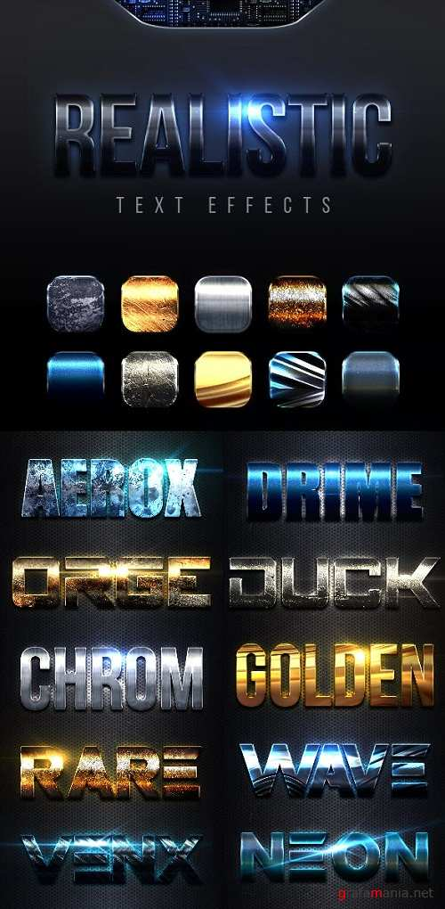 Realistic Text Effects Vol 2 23007387