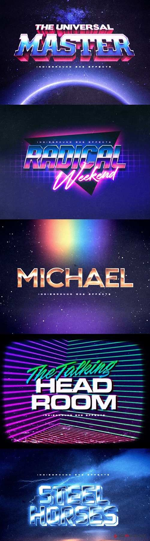 80s Text Effects Vol.2 22912583