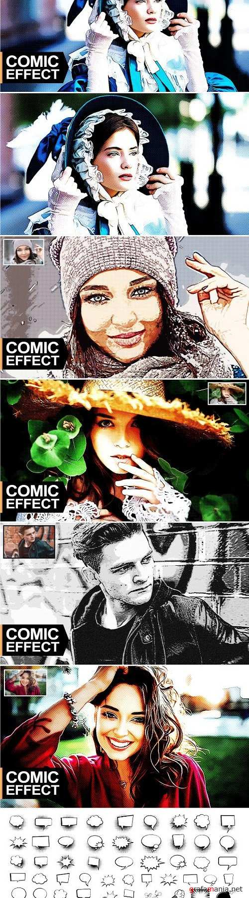 Comic Effect PS Action - 3217043