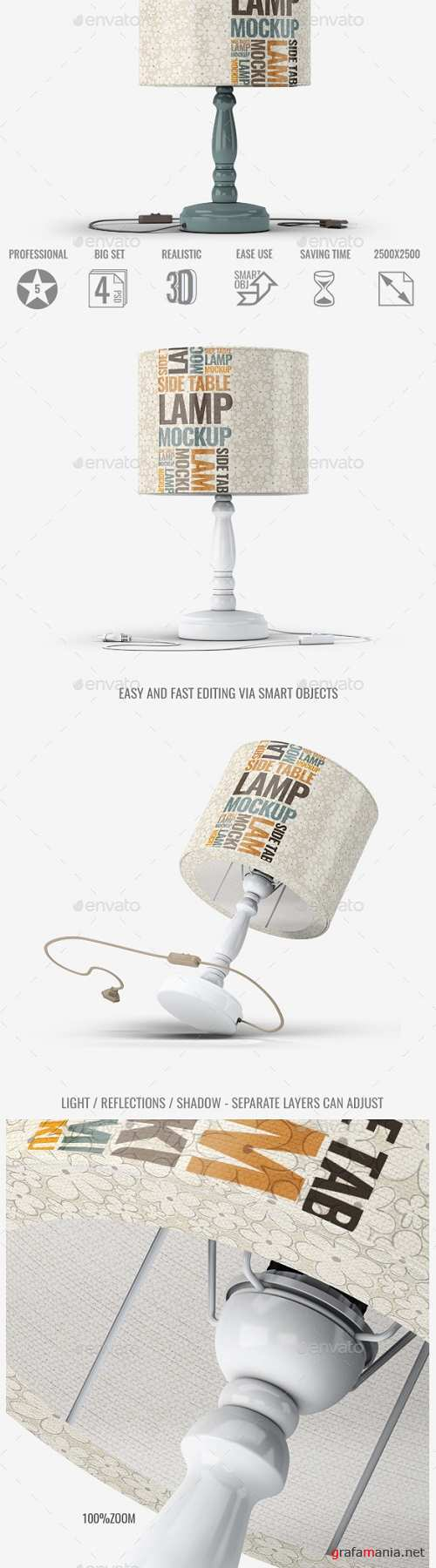Table Lamp Mock-Up 22834286