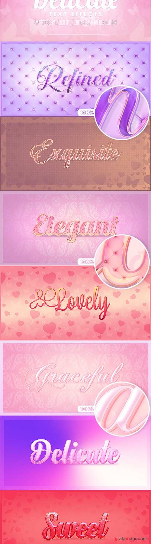 Delicate Photoshop Text Effects 22931110
