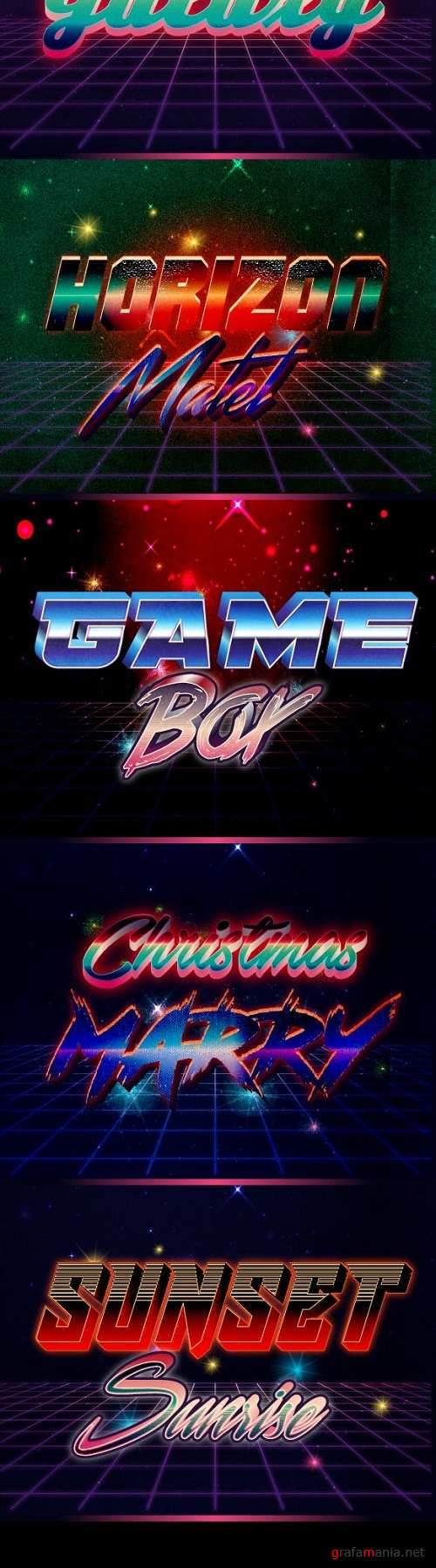 80's Text Effect V2 - 22985244
