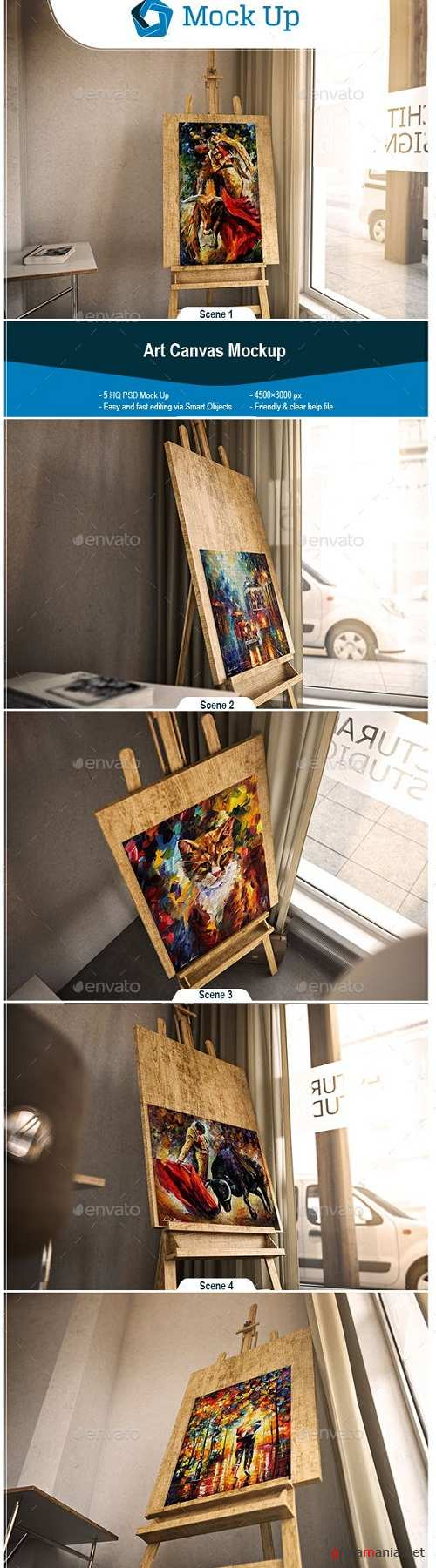 Art Canvas Mockup - 23056722