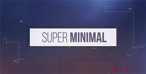 Super Minimal - After Effects Project (Videohive)