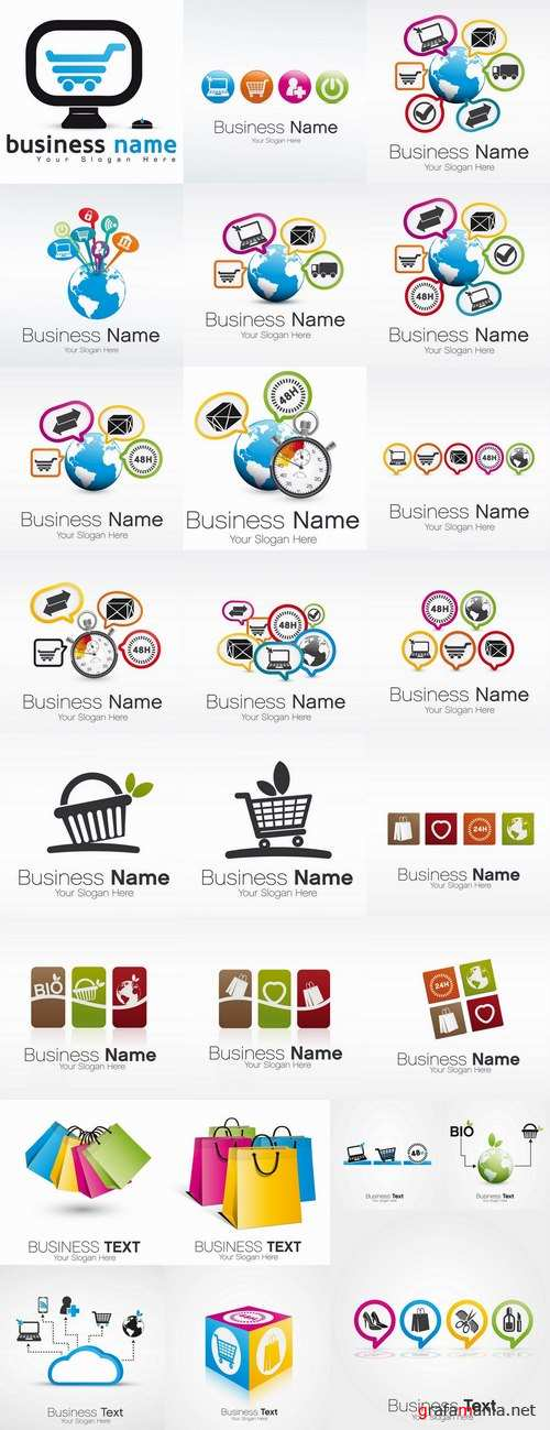 Business logo company sale purchase trade turnover 25 EPS