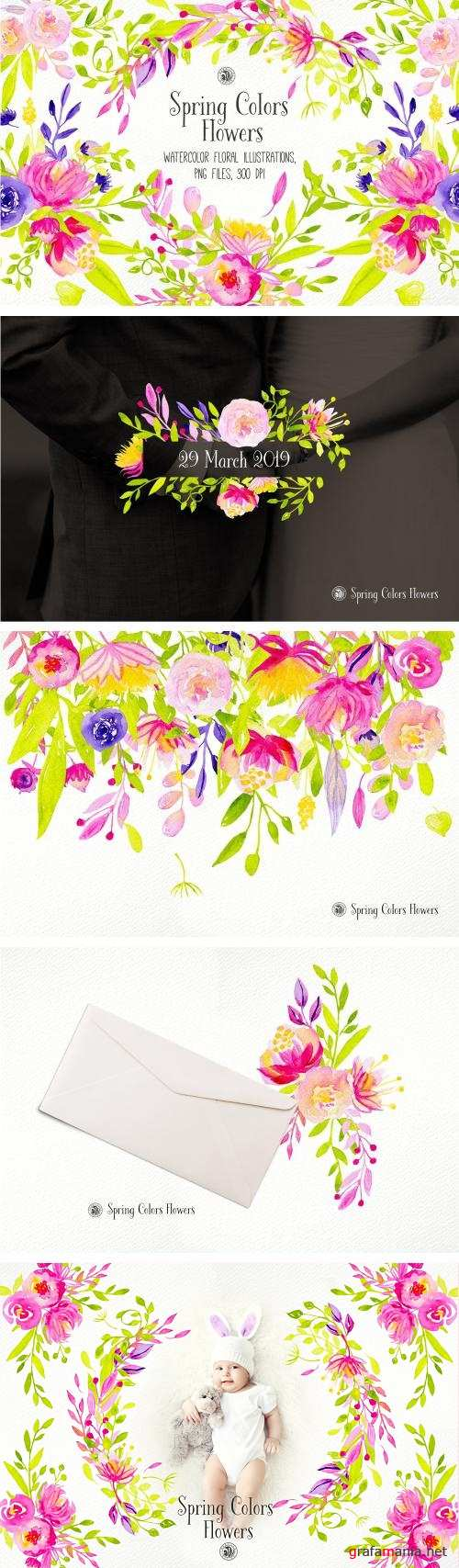 Spring Colors Flowers - 3397804