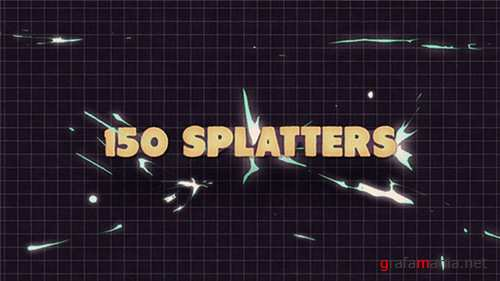 150 Splatter Animations + Opener - After Effects Project (Videohive)