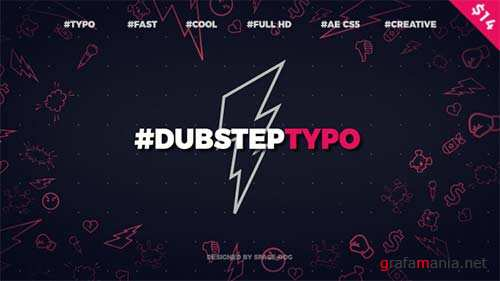 Dubstep Typography (opener) - After Effects Project (Videohive)