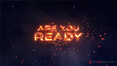 Epic Fire Titles - After Effects Project (Videohive)