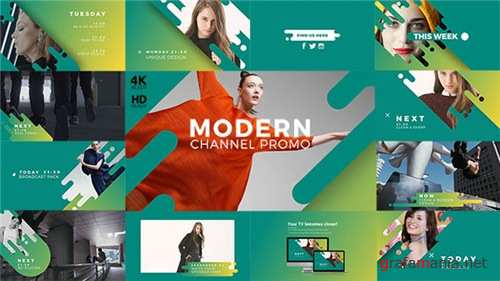Modern Channel Promo v2 - After Effects Project (Videohive)