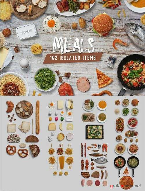 Meals - Isolated Food Items - 3307691