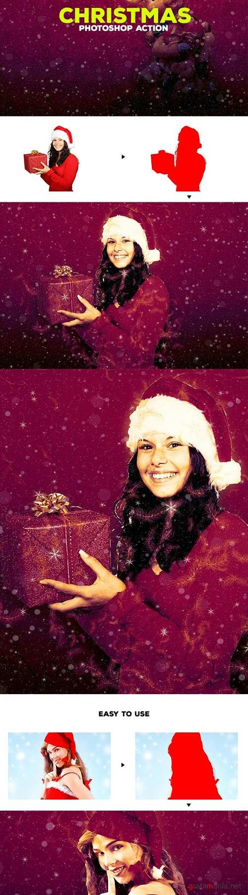 Christmas - Photoshop Action #57 - 19197380