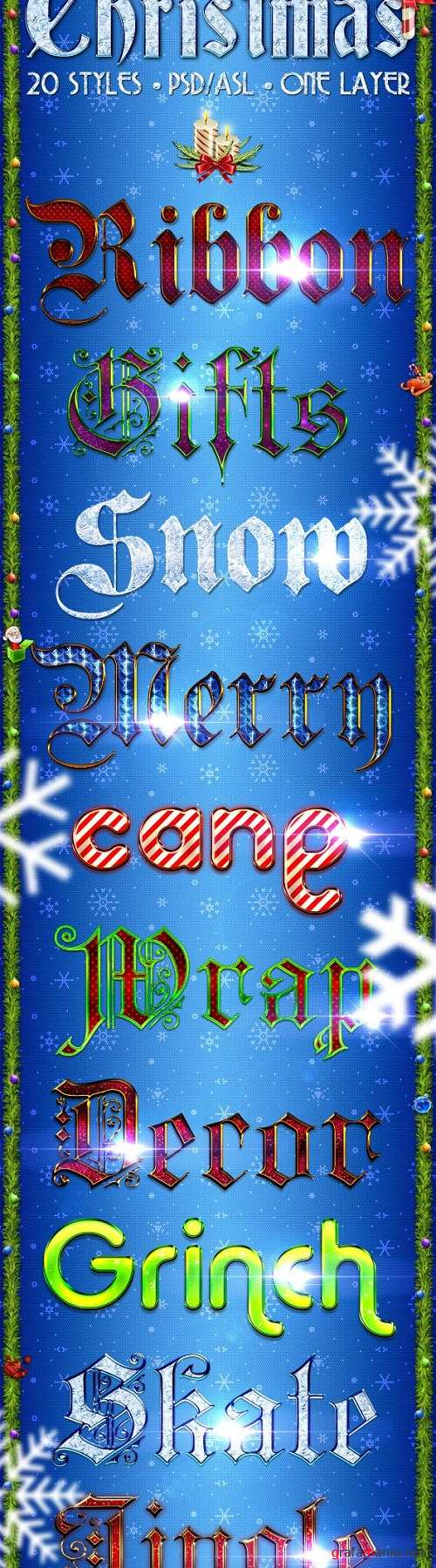 Christmas Pack - Text Styles - 3356871