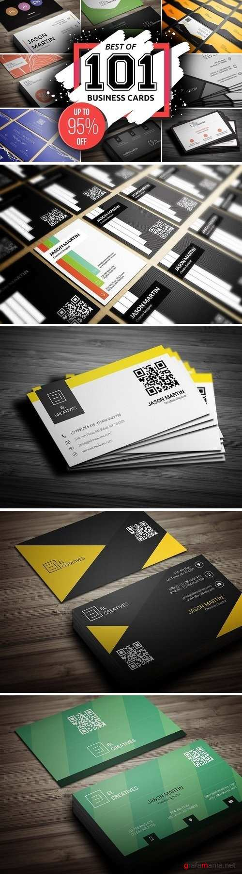 Best 101 Prime Business Cards Bundle - 2159023
