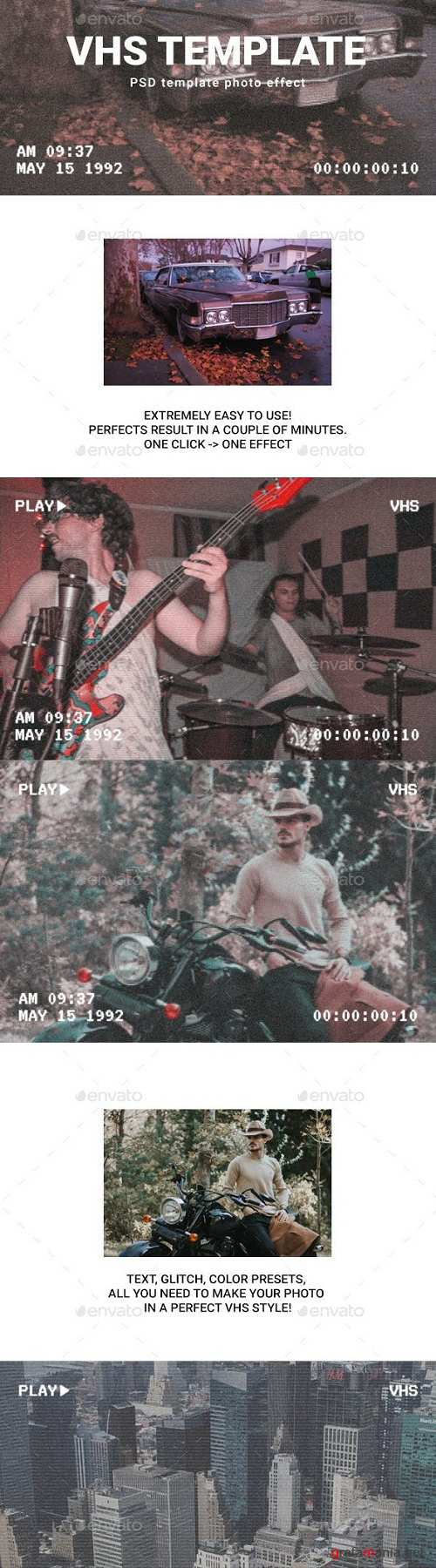 Vhs photo template 23025784