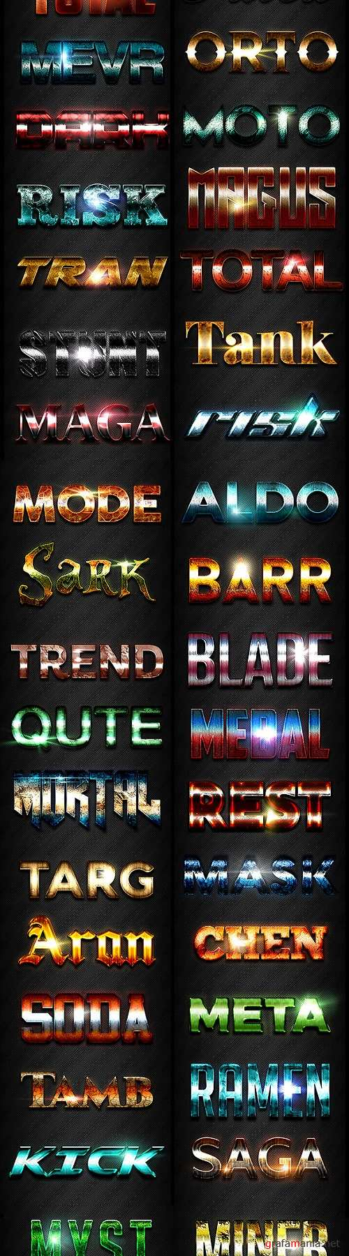 50 Text Effects - Bundle Vol 01 20011877