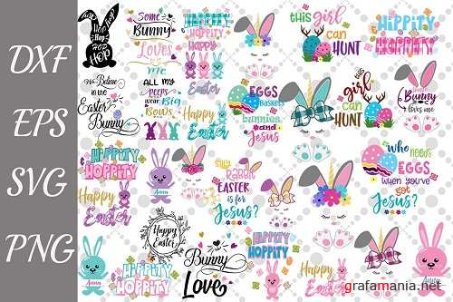 DB Easter Svg Bundle - 208500