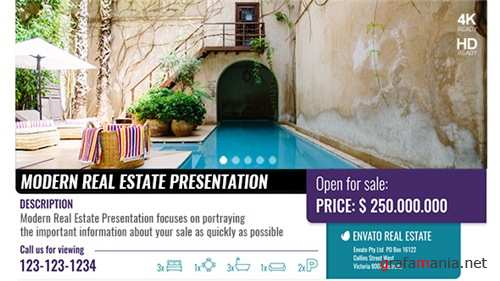Modern Real Estate Presentation - After Effects Project (Videohive)