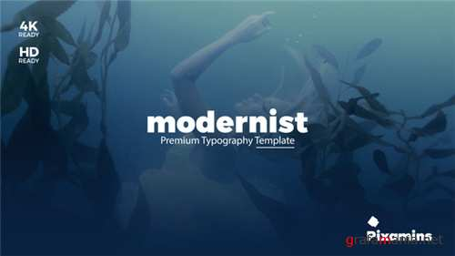 Modernist Premium Typography - After Effects Project (Videohive)