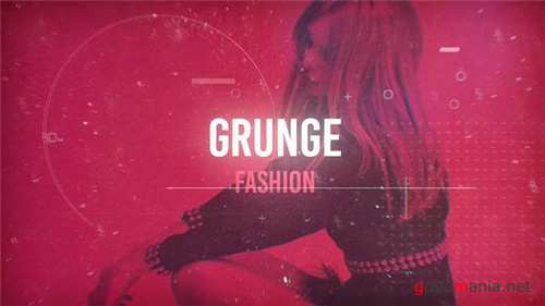 Grunge Fashion - After Effects Project (Videohive)