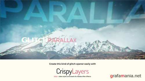 Glitch Parallax Video Opener - After Effects Project (Videohive)