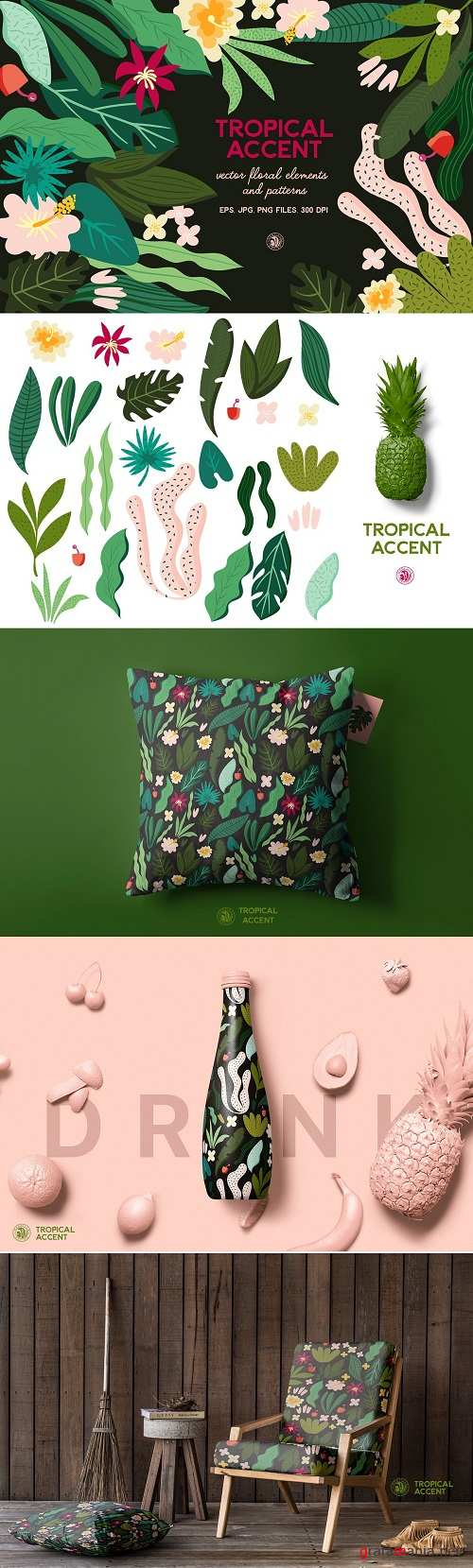 Tropical Accent - 2560938