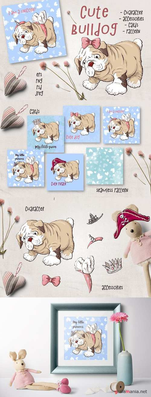 Cute Bulldog - 2138033