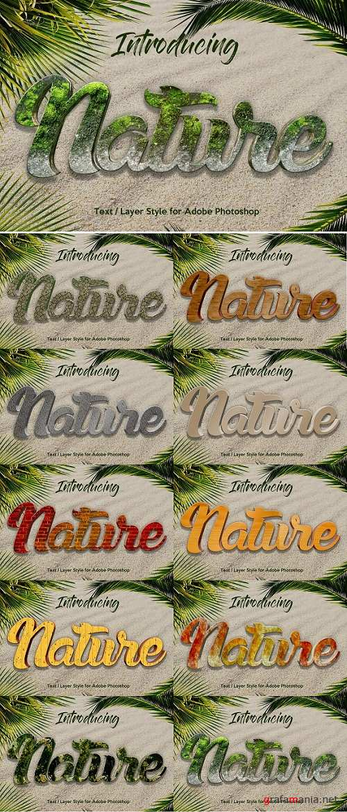 10 Nature Layer Style for Photoshop - 3499610