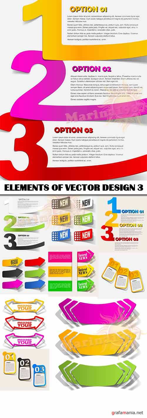 ELEMENTS OF VECTOR DESIGN 3 10 EPS