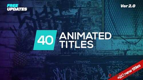 Minmal Dynamic Typography - After Effects Project (Videohive)