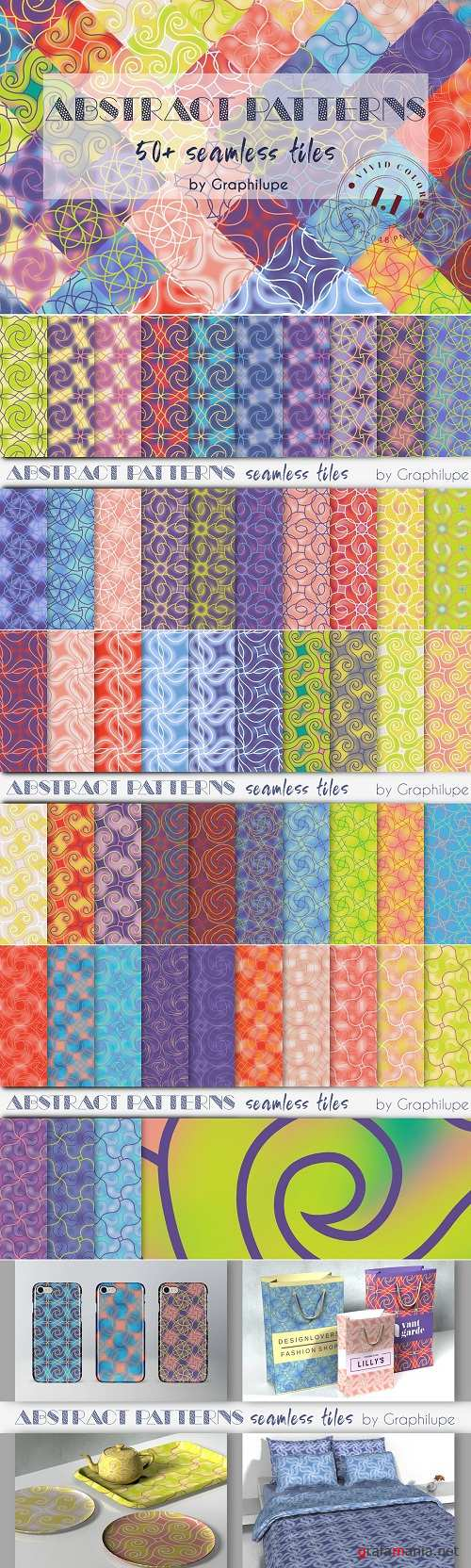 Abstract Patterns Vol. 1.1 - 2878439
