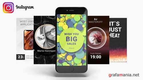 Instagram Stories Pack - After Effects Project (Videohive)