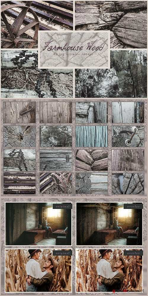 83 rustic woods photo textures pack overlays backgrounds - 228328