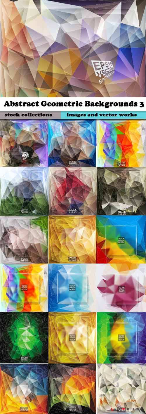 Abstract Geometric Backgrounds 3