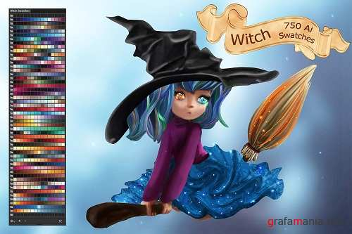 Witch Ai and PS Swatches 2898317 -  2873720