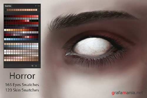 Horror Eyes & Skin Swatches 2881239