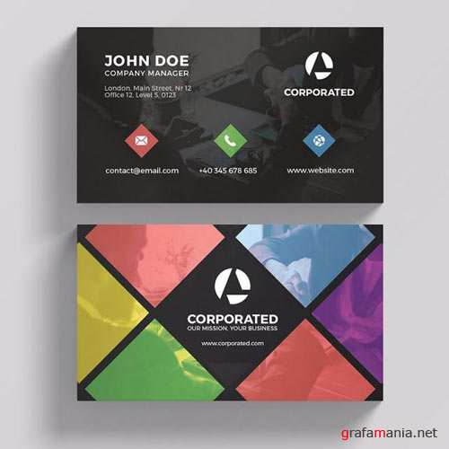 Corporated - business card templates