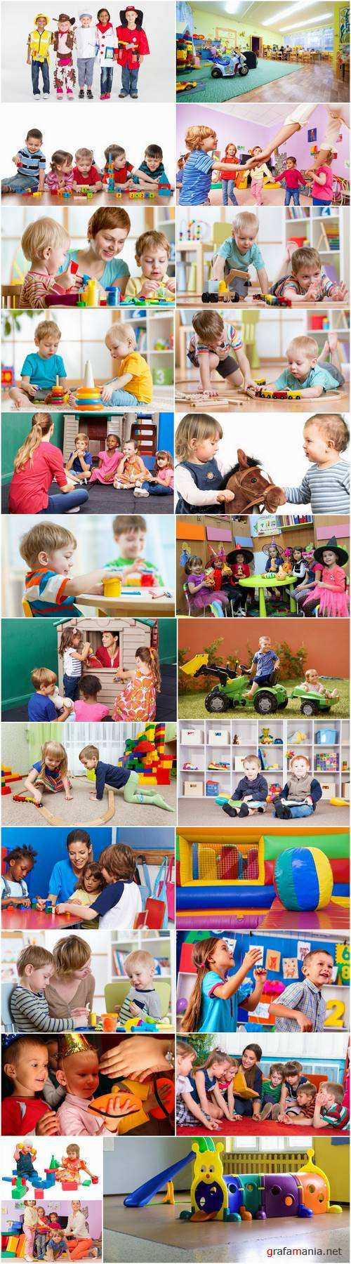 Baby children playing in kindergarten education training 25 HQ Jpeg