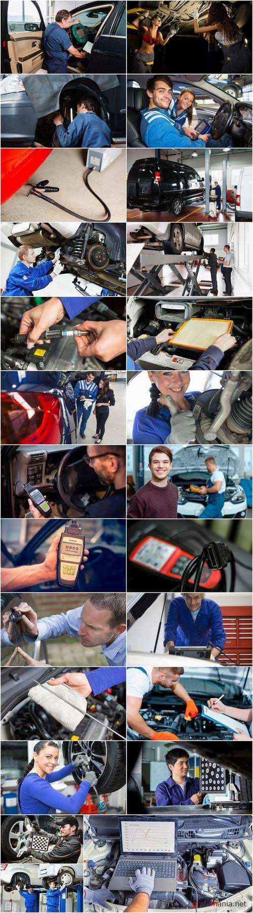 Car diagnostics car mechanic auto repair shop 25 HQ Jpeg